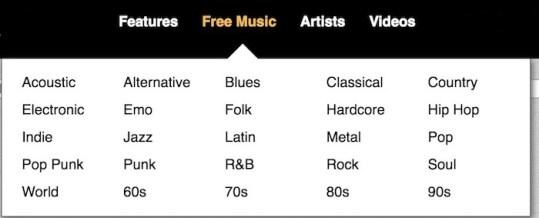 MP3 site