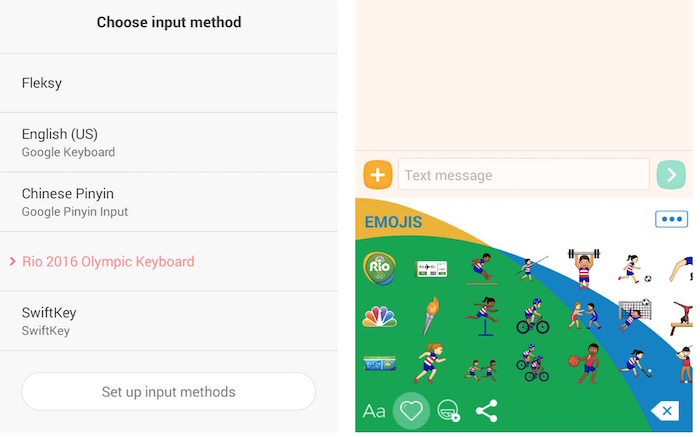 Android Language and input