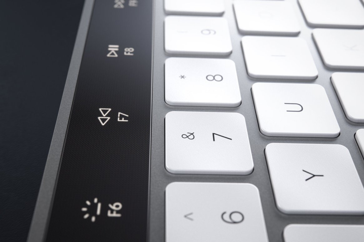 IMAC Keyboard with OLED Touch Bard 13