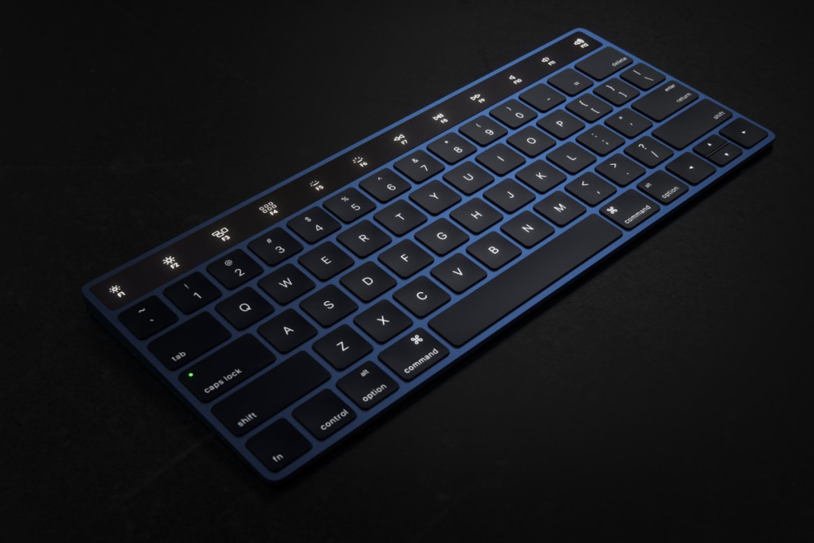 IMAC Keyboard with OLED Touch Bard15