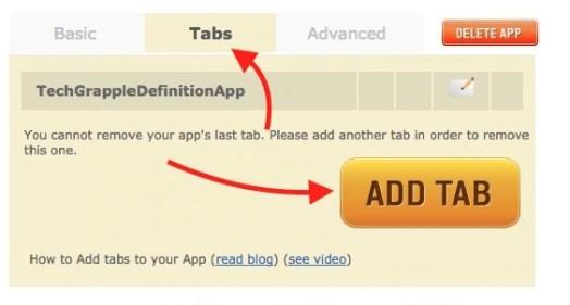 Add Tab to Blog