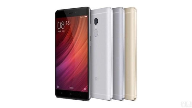 Redmi Note 4 Design