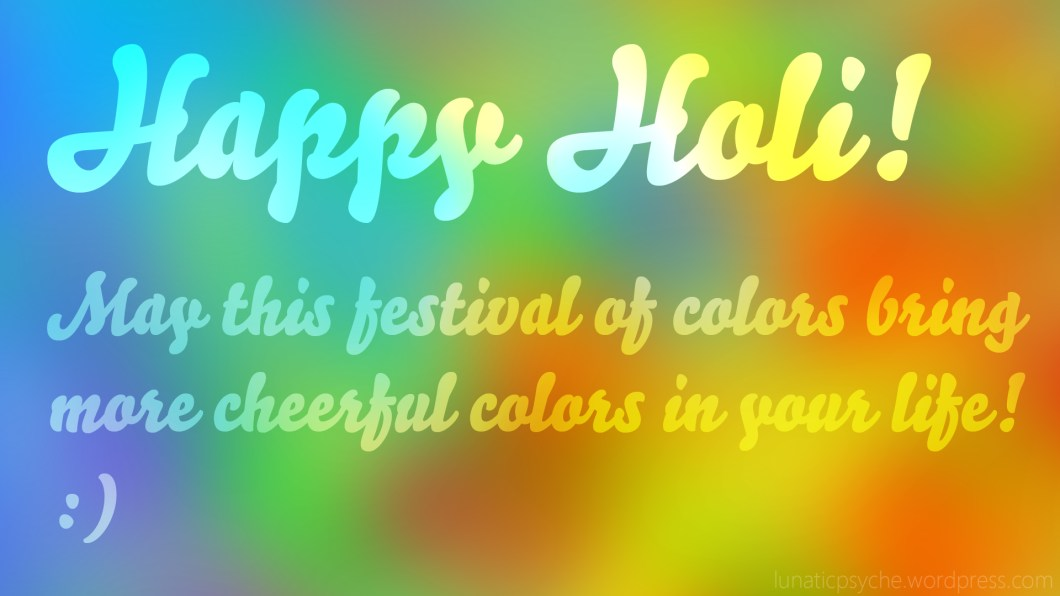 Happy Holi Messages & Status for For Whatsapp