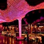 Martin Maxedia Drives Large, Lavish LED Chandelier at Vanity Nightclub, Las Vegas