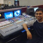 FCBC¹s senior audio engineer Philip Nadesan with the Midas PRO6