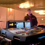 Jason Derulo's FOH engineer Greg Bess with the Midas PRO6