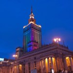 W-DMX Helps Illuminate Warsaw's Palace of Culture