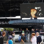 XL Events Supplies Circular LED Display for Nissan at Goodwood Festival of Speed