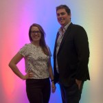 Emma Perrin and Justin Hammond of Wireless Lighting