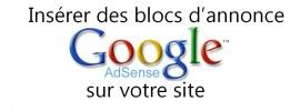 Comment insérer les annonces Google Adsense sur votre site (WordPress)