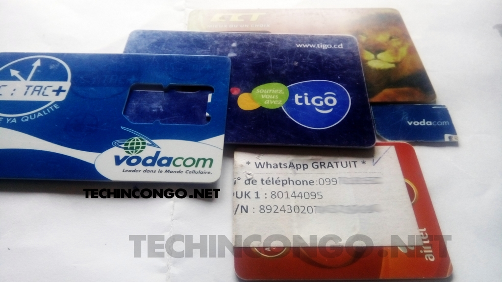 Airtel Vodacom Tigo Orange