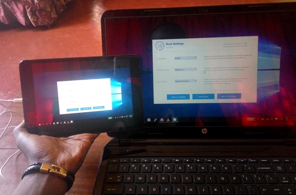 Ipad comme 2 ecran pour Ordinateur