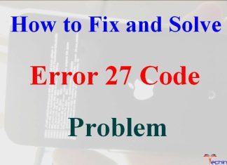 Error 27