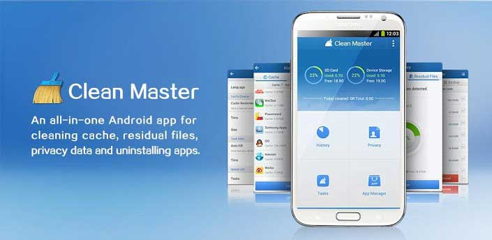 9 CleanMaster- Android utility apps