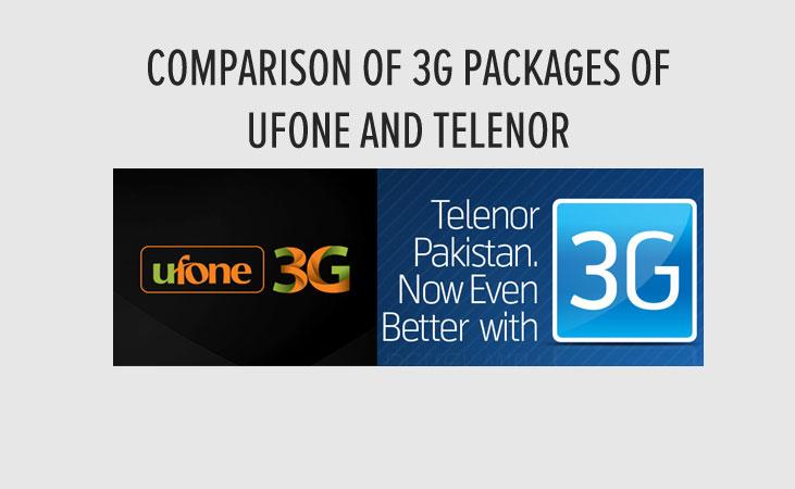 Ufone-Telenor-3G-Rates