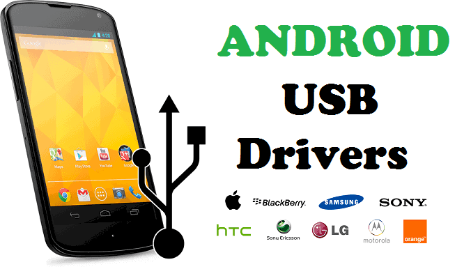 Drivers USB Android para Windows Controladores USB Android