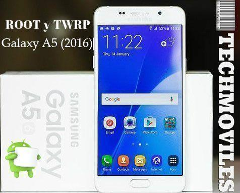 Instalar TWRP Recovery Rootear Galaxy A5 2016 Android Marshmallow