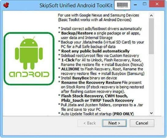 Como Descargar Unified Android Toolkit