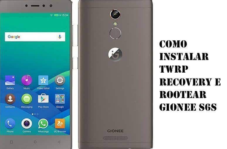 Como instalar TWRP Recovery e Rootear Gionee S6s