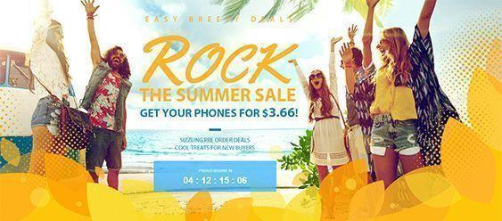 Venta de verano en GearBest Rock the Summer Sale