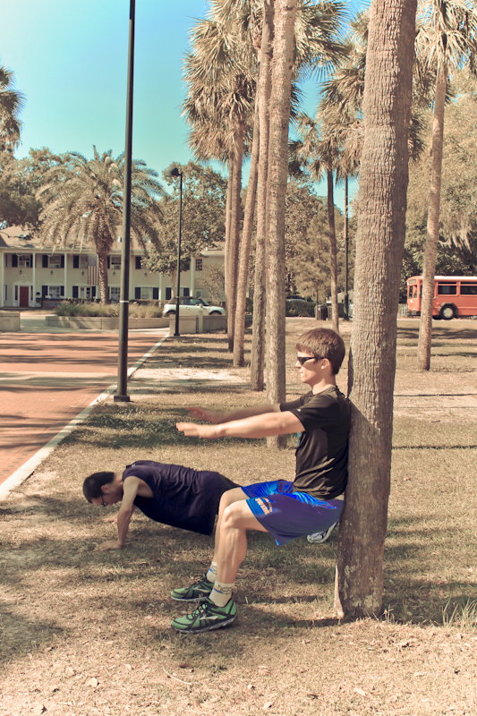 Take your strength training workout outside!