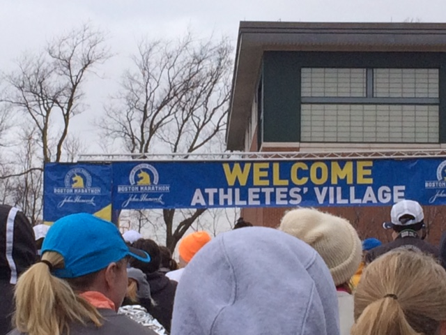 It's time...welcome to Athletes' Village!