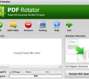 pdf rotator