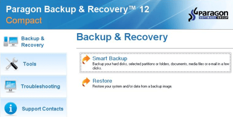 Paragon Backup and Recovery 12  compact