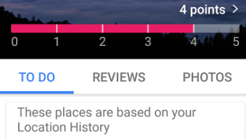 earn points in local guides on google maps