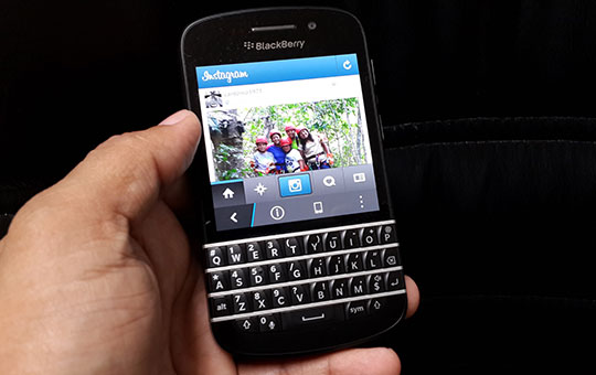 Cómo instalar Instagram en BlackBerry 10
