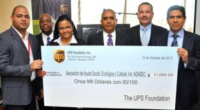 The UPS Foundation dona US$55,000.00 a Food for the Poor y a ADASEC para ayudar a las comunicades en la República Dominicana