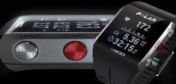 Polar v800 loupe vues La montre multisports Polar V800 avec cardio fréquencemètre et GPS intégré