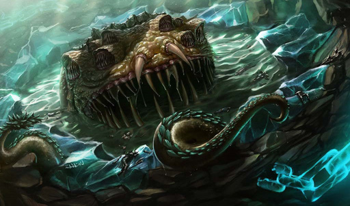 The Yogg-Saron encounter in World of Warcraft is patented.