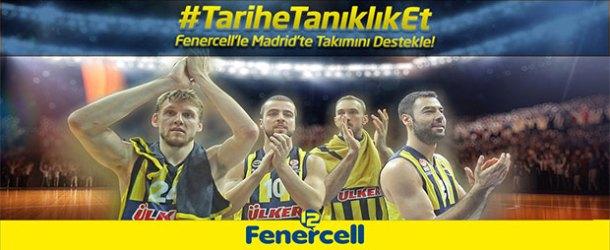 Fenerbahçe'ye desteğini Twitter'da göster