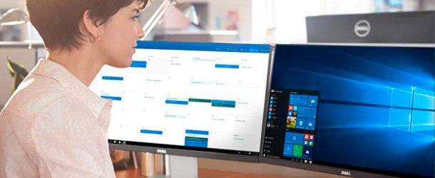 Dell, Windows 10'la çalışan bilgisayarlarını sipariş etti