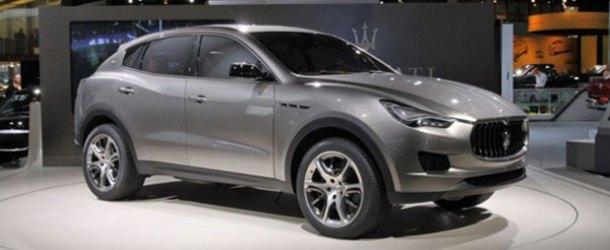 Maserati'nin Lüks SUV'u Levante, Cenevre'de görücüye çıkacak