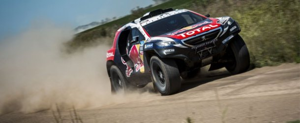 Peugeot Total Team start çizgisinde