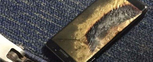 ABD'de Note 7'nin uçak bagajına alınması da yasaklandı