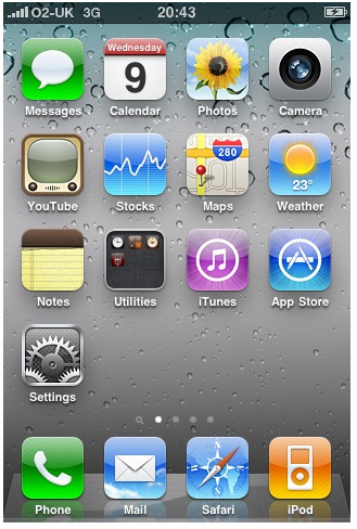 iPhone os 4.0 iOS 4.0