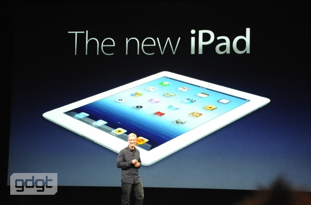The new iPad 3