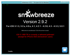 sn0wbreeze v2.9.2 The xpwn GUI for Windows