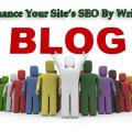 enhance your site's seo by writting Blog