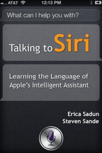 Siri an intelligent App by Apple for Iphone 4S