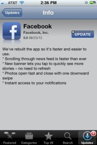 facebook-for-iphone ios update