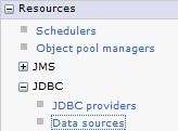 Create Datasource WAS