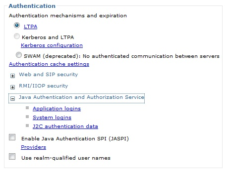 Creating J2C Authentication screenshot 2