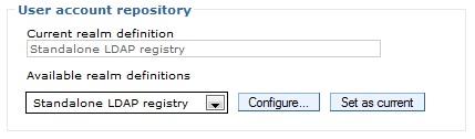 Standalone LDAP registry