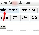 Weblogic Admin Console Domain