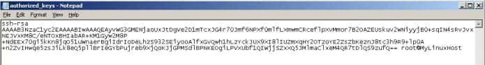 OpenSSH public key Authentication