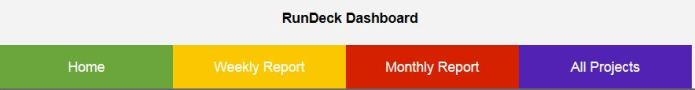 Rundeck Dashboard